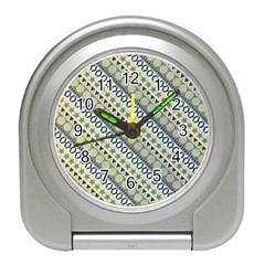 Abstract Seamless Pattern Travel Alarm Clocks by Amaryn4rt