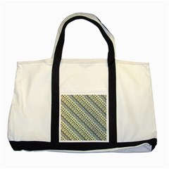 Abstract Seamless Pattern Two Tone Tote Bag by Amaryn4rt
