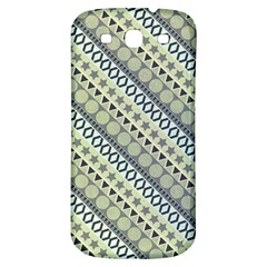 Abstract Seamless Pattern Samsung Galaxy S3 S Iii Classic Hardshell Back Case by Amaryn4rt