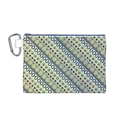 Abstract Seamless Pattern Canvas Cosmetic Bag (M) by Amaryn4rt