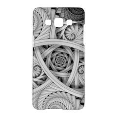 Fractal Wallpaper Black N White Chaos Samsung Galaxy A5 Hardshell Case  by Amaryn4rt