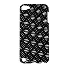 Abstract Of Metal Plate With Lines Apple Ipod Touch 5 Hardshell Case by Amaryn4rt