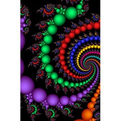 Fractal Background With High Quality Spiral Of Balls On Black 5 5  X 8 5  Notebooks by Amaryn4rt