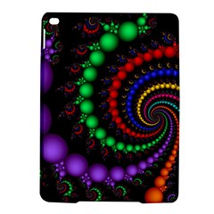 Fractal Background With High Quality Spiral Of Balls On Black Ipad Air 2 Hardshell Cases by Amaryn4rt