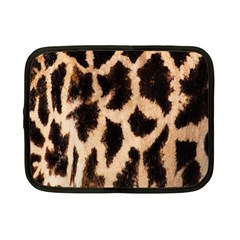 Yellow And Brown Spots On Giraffe Skin Texture Netbook Case (small)  by Amaryn4rt