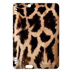 Yellow And Brown Spots On Giraffe Skin Texture Kindle Fire Hdx Hardshell Case by Amaryn4rt