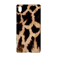 Yellow And Brown Spots On Giraffe Skin Texture Sony Xperia Z3+ by Amaryn4rt