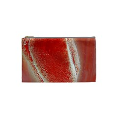 Red Pepper And Bubbles Cosmetic Bag (small)  by Amaryn4rt