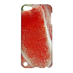 Red Pepper And Bubbles Apple Ipod Touch 5 Hardshell Case by Amaryn4rt