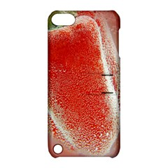 Red Pepper And Bubbles Apple Ipod Touch 5 Hardshell Case With Stand by Amaryn4rt