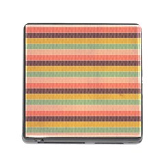 Abstract Vintage Lines Background Pattern Memory Card Reader (square) by Amaryn4rt