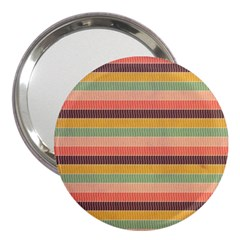 Abstract Vintage Lines Background Pattern 3  Handbag Mirrors by Amaryn4rt