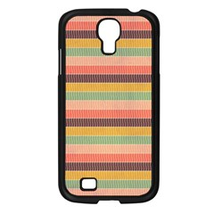 Abstract Vintage Lines Background Pattern Samsung Galaxy S4 I9500/ I9505 Case (black) by Amaryn4rt