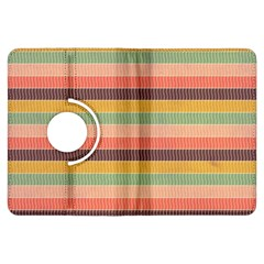 Abstract Vintage Lines Background Pattern Kindle Fire Hdx Flip 360 Case by Amaryn4rt