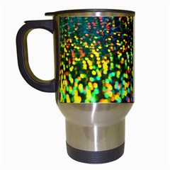 Construction Paper Iridescent Travel Mugs (white) by Amaryn4rt