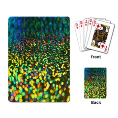 Construction Paper Iridescent Playing Card by Amaryn4rt