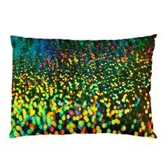 Construction Paper Iridescent Pillow Case (two Sides) by Amaryn4rt