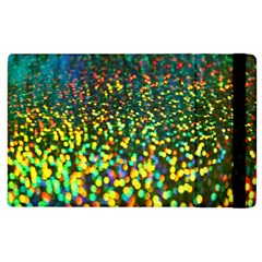 Construction Paper Iridescent Apple Ipad 3/4 Flip Case by Amaryn4rt