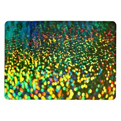 Construction Paper Iridescent Samsung Galaxy Tab 10 1  P7500 Flip Case by Amaryn4rt