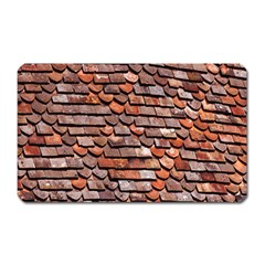 Roof Tiles On A Country House Magnet (rectangular) by Amaryn4rt