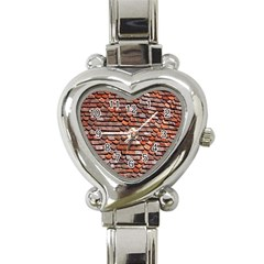 Roof Tiles On A Country House Heart Italian Charm Watch by Amaryn4rt
