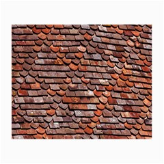 Roof Tiles On A Country House Small Glasses Cloth by Amaryn4rt