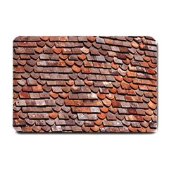 Roof Tiles On A Country House Small Doormat  by Amaryn4rt