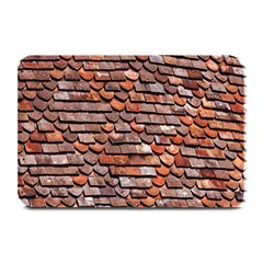 Roof Tiles On A Country House Plate Mats by Amaryn4rt