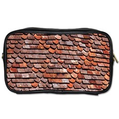 Roof Tiles On A Country House Toiletries Bags by Amaryn4rt