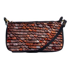 Roof Tiles On A Country House Shoulder Clutch Bags by Amaryn4rt