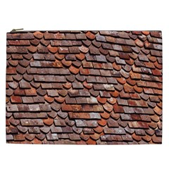 Roof Tiles On A Country House Cosmetic Bag (xxl)  by Amaryn4rt