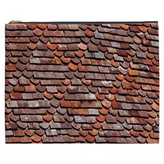Roof Tiles On A Country House Cosmetic Bag (xxxl)  by Amaryn4rt