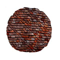 Roof Tiles On A Country House Standard 15  Premium Round Cushions by Amaryn4rt
