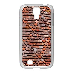 Roof Tiles On A Country House Samsung Galaxy S4 I9500/ I9505 Case (white) by Amaryn4rt
