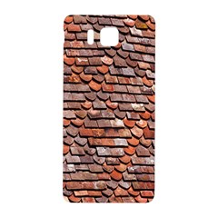 Roof Tiles On A Country House Samsung Galaxy Alpha Hardshell Back Case by Amaryn4rt