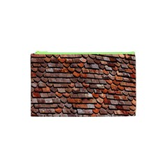 Roof Tiles On A Country House Cosmetic Bag (xs) by Amaryn4rt