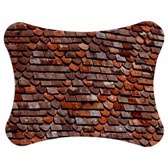 Roof Tiles On A Country House Jigsaw Puzzle Photo Stand (bow) by Amaryn4rt