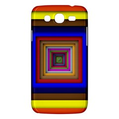 Square Abstract Geometric Art Samsung Galaxy Mega 5 8 I9152 Hardshell Case  by Amaryn4rt