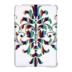 Damask Decorative Ornamental Apple Ipad Mini Hardshell Case (compatible With Smart Cover) by Amaryn4rt