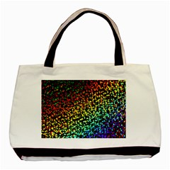 Construction Paper Iridescent Basic Tote Bag by Amaryn4rt