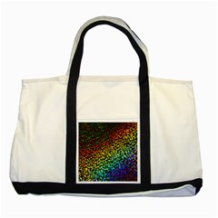 Construction Paper Iridescent Two Tone Tote Bag by Amaryn4rt
