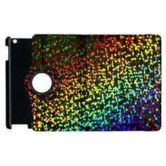 Construction Paper Iridescent Apple Ipad 2 Flip 360 Case by Amaryn4rt