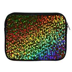 Construction Paper Iridescent Apple Ipad 2/3/4 Zipper Cases by Amaryn4rt