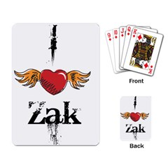 I Heart Zak Playing Card by badwolf1988store