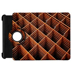 Metal Grid Framework Creates An Abstract Kindle Fire Hd 7  by Amaryn4rt