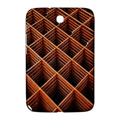 Metal Grid Framework Creates An Abstract Samsung Galaxy Note 8 0 N5100 Hardshell Case  by Amaryn4rt