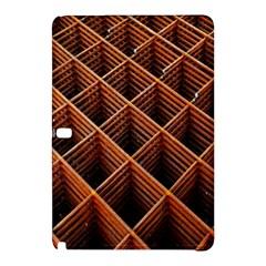 Metal Grid Framework Creates An Abstract Samsung Galaxy Tab Pro 12 2 Hardshell Case by Amaryn4rt