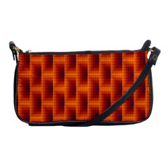 Fractal Multicolored Background Shoulder Clutch Bags by Amaryn4rt