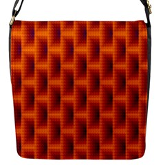 Fractal Multicolored Background Flap Messenger Bag (s) by Amaryn4rt