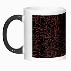 Black And Red Background Morph Mugs by Amaryn4rt